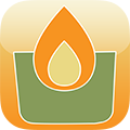 Candle Pod website App icon 120 x 120