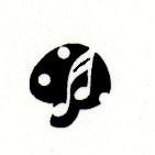 Mushroom music icon