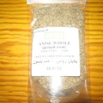 Whole Anise comes in packets and available at specialty stores and supermarkets in the spice aisle.