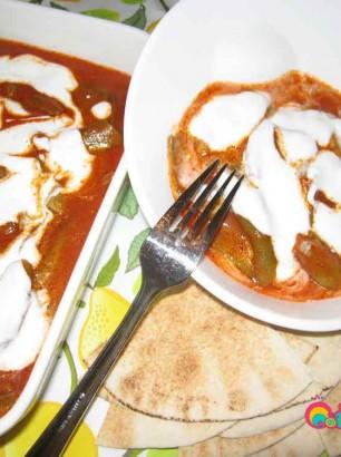 Fava Beans with Garlic Yogurt Dressing Recipe