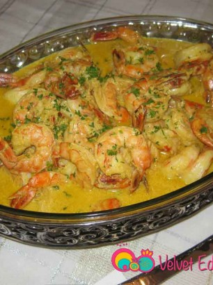 Prawns Shrimp in Curry Sauce Recipe