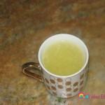 About 1/4 cup lemon juice.
