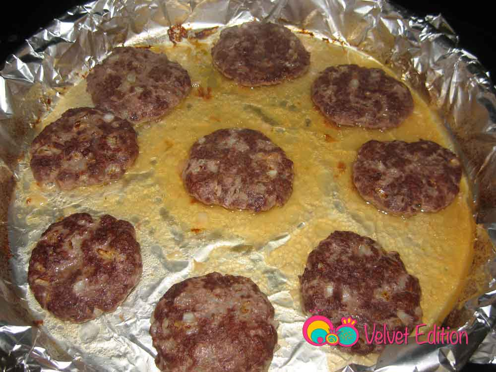 how to cook beef patties in oven