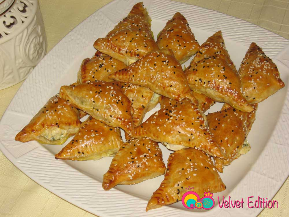 "Cheese ""Beurek"" in Puff Pastry"