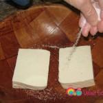 Sprinkle each piece with kosher salt.