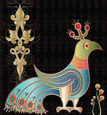 Armenian Bird - Original Interpretation #1