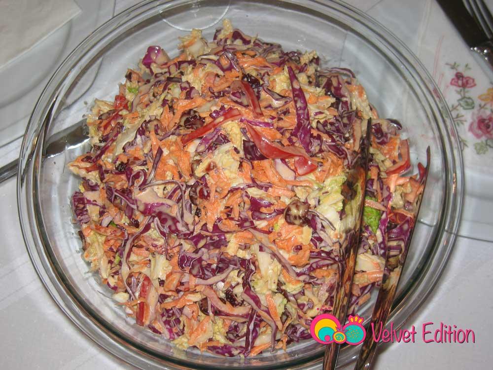 Creamy Coleslaw Salad
