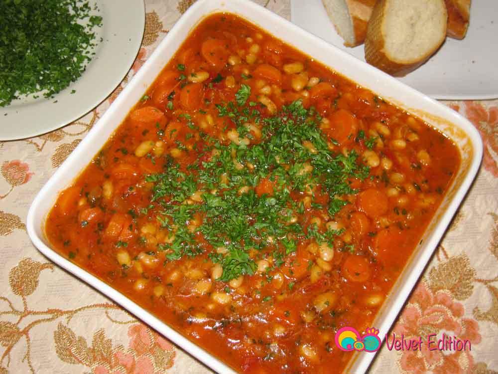 White Beans Plaki Salad