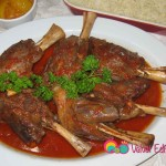 Lamb shanks slow cooked to perfection!