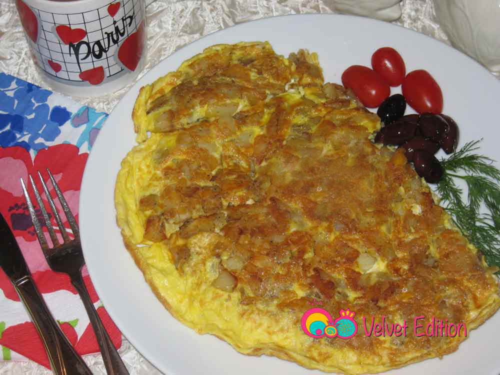 Potato and Eggs Frittata